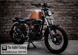 Custom Royal Enfield Bikes in Chennai | The Bullet Factory
