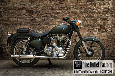Custom Royal Enfield Bikes In Chennai The Bullet Factory Chennai - Best custom vinyl decals for motorcycle seat
