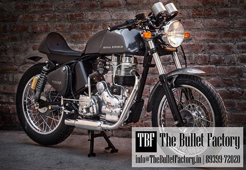 Custom Royal Enfield Bikes In Chennai The Bullet Factory Chennai